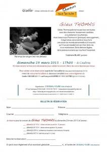 Blog Gildas THOMAS sous le toit de Gisèle à CASTRES - dimanche 29 mars