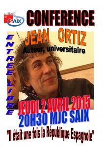 affiche Jean Ortiz