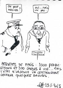 Alain G Attentats bavures