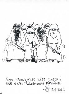 Alain G Françaises Daesh