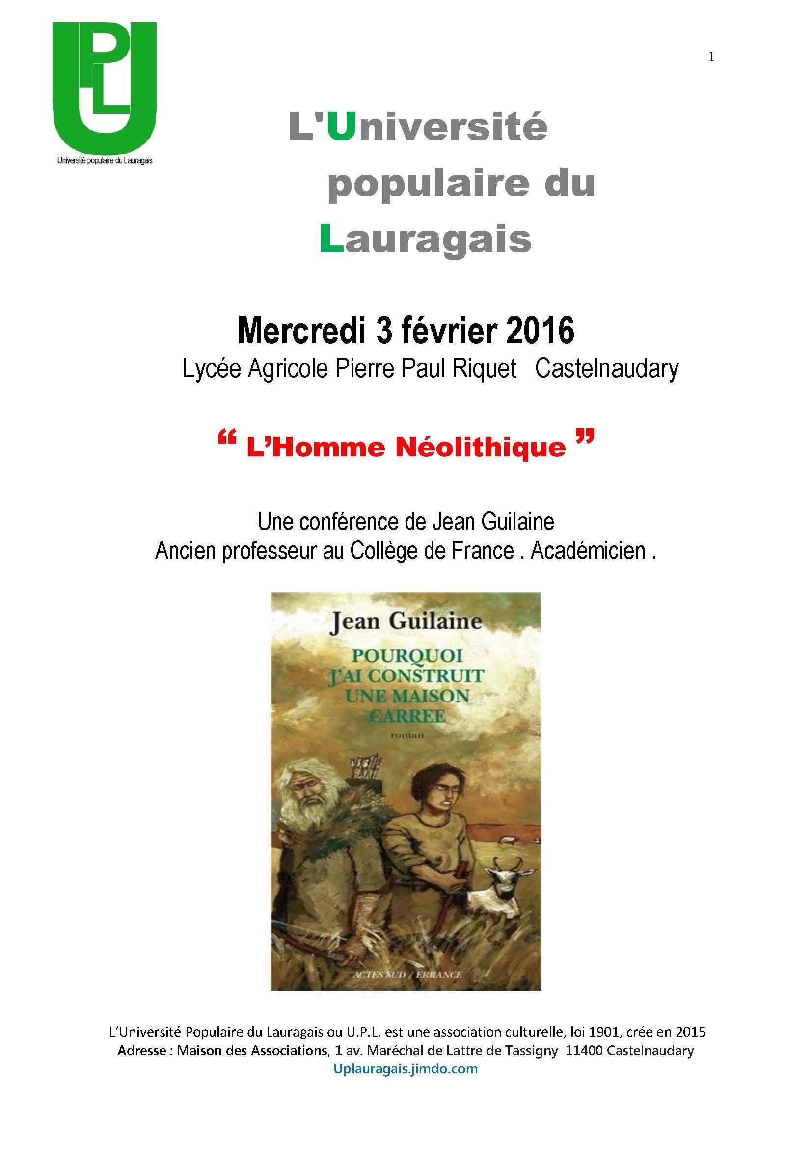Blog Affiche Jean Guilaine (1)