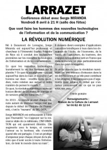 Blog Conférence Larrazet