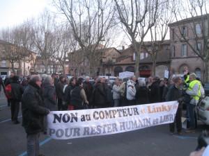 Blog Gaillac rassemblement Linky 24 mars (2)
