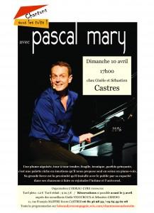 Blog Pascal MARY sous le toit de Gisèle et Sébastien à CASTRES - dimanche 10 avril