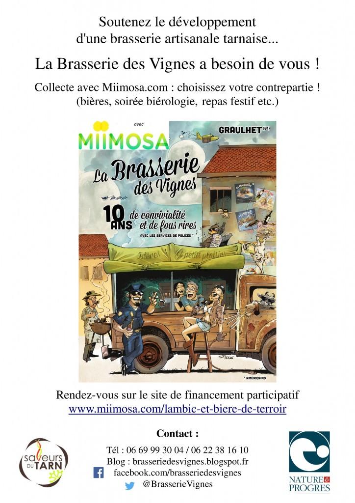 blog flyer brasserie des vignes